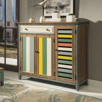 Colorful Solid Wood Cabinet Living Room Lockers