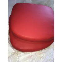 Replacement Cushions for Bubble Chair in Red color and PU leather