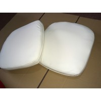 Replacement Cushions for Pod Egg Chair in Cream color and PU leather
