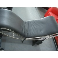 Cushion and Straps for Le Corbusier LC4 Chaise Lounge Chair in Top Grain Leather