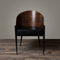 King Costes Coffee Chair In Real Leather