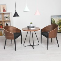 King Costes Coffee Chair In PU Leather