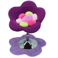 Flower Chair With Round Base