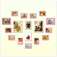 Wall Photo Collection Of 17Pcs