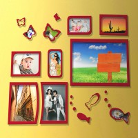 Wall Photo Collection Of 7Pcs