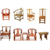 Chinese Style Ming And Qing Dynasty Antique Chair