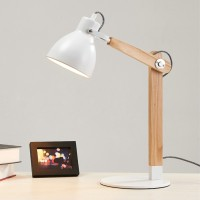Creative Simplicity Solid Wood Desk Table Lamp Style 3