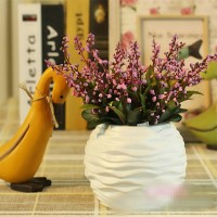 Artificial Jumble Beads With Vase