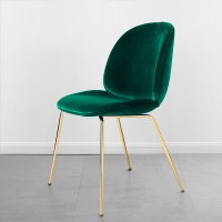 Beetle Gubi Dining Chair With Steel Inner Frame