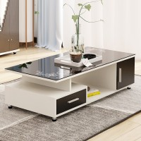 Tempered Glass Coffee Table 24 Colors Available