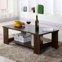 Coffee Table Simple Modern Wooden Small Size