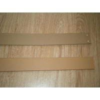 Customized Barcelona Chair Straps Replacement Repair Frame Belt in Dark Tan Color