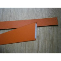 Barcelona Chair Straps Replacement Repair Frame Belt Customized Orange Color