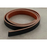 Real Leather Barcelona Chair Straps in Average Grade