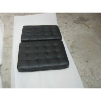 Barcelona Chair Cushions and Straps in Italian Leather