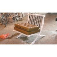 Khaki Barcelona Chair Cushions