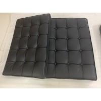Black Barcelona Chair Cushions in higher grade