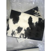 Cowhide Barcelona Chair Cushions with no piping