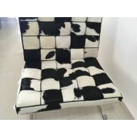 Cowhide Leather Barcelona Chair Cushions