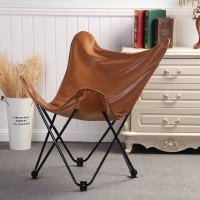 Hardoy Butterfly Chair In Saddle Leather