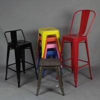 Tolix Style Bar Chair Iron Bar High Stool Buy 4Pcs Get 25% Percent