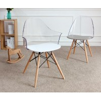 Nude Back Chair With Arms
