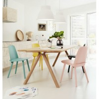 Muuto Style Nerd Chair In Solid Wood