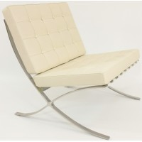 Cream Barcelona Chair