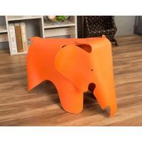 Elephant Lounge Chair In Orange