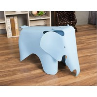 Eames Elephant Lounge Chair in Sky Blue