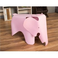 Eames Elephant Lounge Chair in Pink