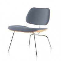 Eames Style LCM plywood dining Chair in PU leather