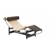 Le Corbusier Cp Style Chaise Lounge Chair Lc4