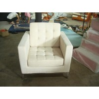 Florence Knoll Sofa,One Seat,Armchair, Made In Fabric