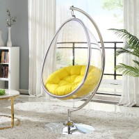 Bubble Chair In Pod Egg Style With Stand And Chain