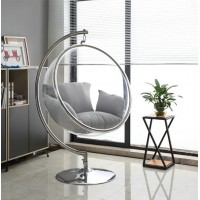 Bubble Chair With Stainless Steel Stand And Chain
