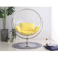 Bubble Chair In Globe Style With Stand And No Chain