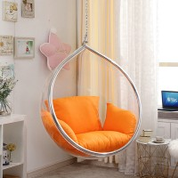 Hanging Bubble Chair In Rain Drop Style