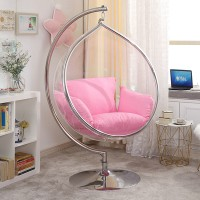 Bubble Chair In Rain Drop Style With Stand And No Chain