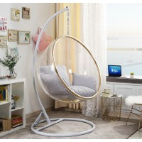 Bubble Chair With Chromed Steel Stand And Chain