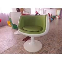 Padded Bar Cup Chair,Cognac Chair