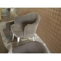 Saarinen Executive Chair In Gray Fabric