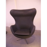 Egg Chair in PU leather