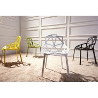Magis Chair One Stacking Of Plastic
