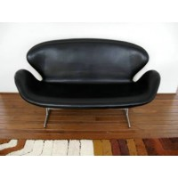 Swan Sofa In PU Leather