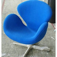 Swan Chair Made In Fabric