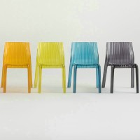 Kartell Style Frilly Chair